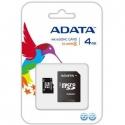 A-Data MicroSDHC 4 GB Class 4 +SD адаптер