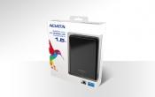 A-Data Портативный Жесткий Диск 1.5TB  AHV620 чёрный, USB 3.0