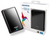 A-Data Портативный Жесткий Диск 1 TB  AHV620 чёрный USB 3.0