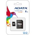 A-Data MicroSDHC 8 GB Class 4 +SD адаптер