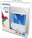 A-Data Портативный Жесткий Диск 500 GB  HV610 белый/голубой, USB