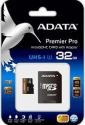 A-Data MicroSDHC 32 GB Class10 Premier UHS-I + SD адаптер