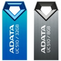 A-Data  USB   8GB  UC510 мет. корпус титановый