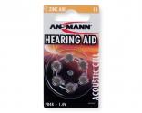 ANSMANN Zinc-Air 13  5013243 BL6 (PR48)