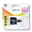 APACER Micro SDHC 32 GB class4 с SD адаптером