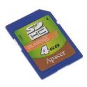 Apaсer SDHC 4GB Class4