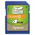 Apaсer SDHC 4GB Class6
