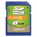 Apaсer SDHC 8GB Class6