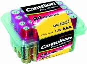 Camelion LR03 Plus Alkaline в пласт.конт. 24 шт