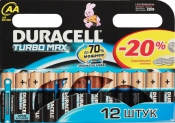 Duracell MN1500 LR 6 BL12 TURBO MAX