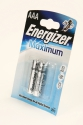 Energizer E92 LR03 Maximum+ BL2