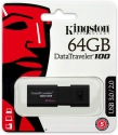 Kingston USB 64GB  DataTraveler 100 G3