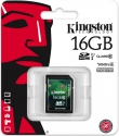 Kingston  SDHC 16GB Class10