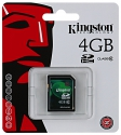Kingston  SDHC 4GB Class10