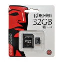 Kingston MicroSDHC 32GB Class10 с SD адаптером