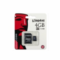 Kingston MicroSDHC 4GB class 10 c SD-адаптером