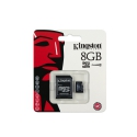 Kingston MicroSDHC 8GB Class10 с SD адаптером