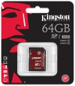 Kingston  SDHC 64GB UHS-I Speed Class 3 (U3)