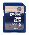 Kingston  SDHC 32GB Class4