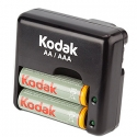 Kodak K640E-C+2 x 1800mAh Travel Charger