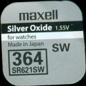 MAXELL S621L-SG1  364