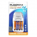 PLEOMAX SAMSUNG 1016 Power Chager Plus + 4*2300 mAh