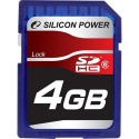 Silicon Power SDHC 4GB Class6