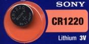 Sony CR1220-5BL
