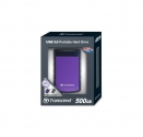 Transcend StoreJet 25H3 HDD 500 GB(TS500GSJ25H3P  )