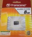 Transcend MicroSD 8Gb Class 4 без адаптера