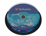 Verbatim CD-R Extra Protection cake 10
