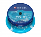 Verbatim CD-R Extra Protection cake 25