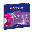 Verbatim DVD+R Colour slim 5