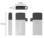 Transcend JetFlash  380S  16 GB  (USB+microUSB) for Android smar