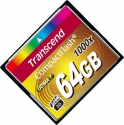 Transcend Compact Flash 64Gb  1000x